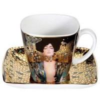 Filiżanka espresso Judyta 90ml Gustaw Klimt Goebel