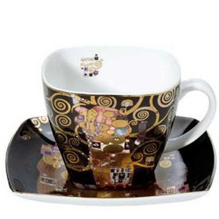 Filiżanka Spełnienie 250ml Gustaw Klimt Goebel