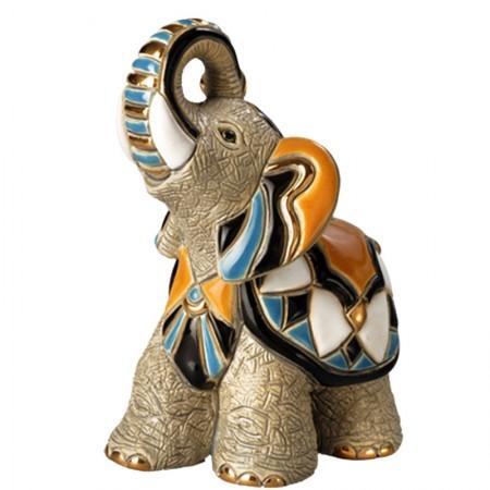 Figurka Słoń Indyjski 14 cm De Rosa Rinconada