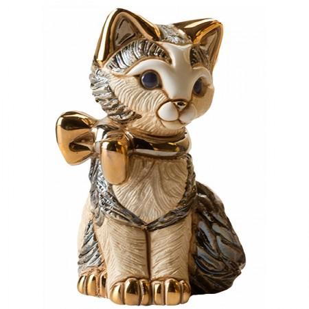 Figurka Kotek ze wstążką 14cm De Rosa Rinconada