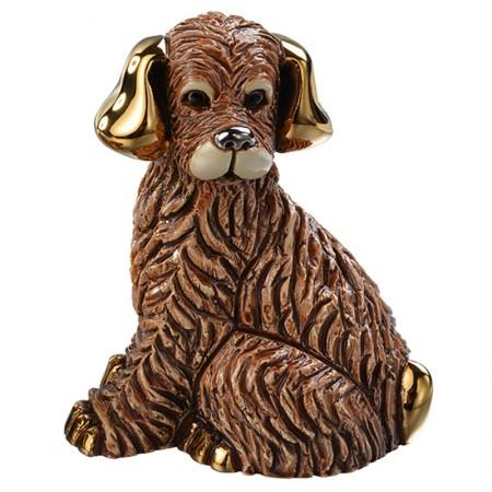 Figurka Pies brązowy 10 cm De Rosa Rinconada