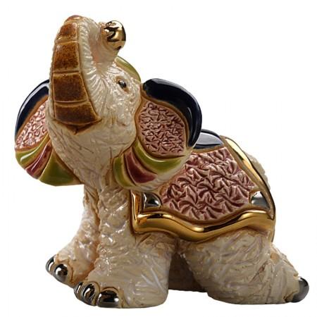 Figurka Mały słoń indyjski I 8cm De Rosa Rinconada