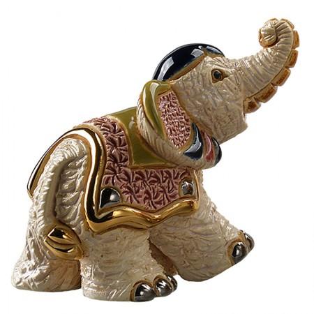 Figurka Mały słoń indyjski II 8cm De Rosa Rinconada