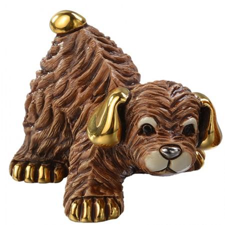 Figurka Mały pies brązowy 7 cm De Rosa Rinconada