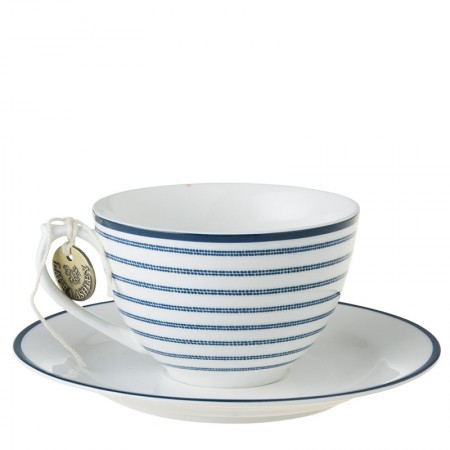 Filiżanka cappucino Candy Stripe 250ml Laura Ashley