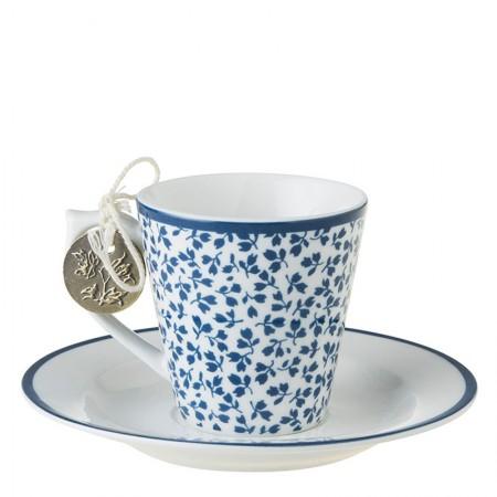 Filiżanka espresso Floris 80ml Laura Ashley
