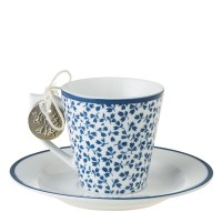 Filiżanka espresso Floris 80ml Laura Ashley