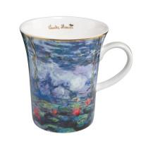 Kubek Waterlielies with Willow 350ml Claude Monet Goebel