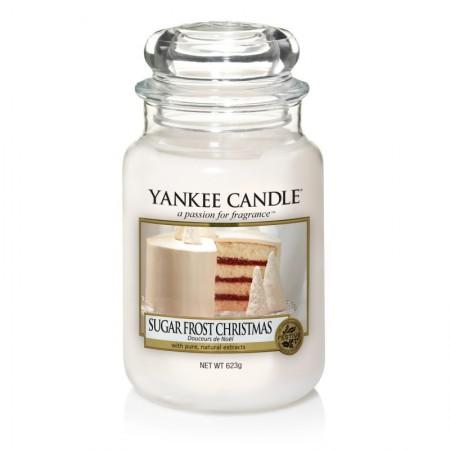 Świeca duża Sugar Frost Christmas Yankee Candle