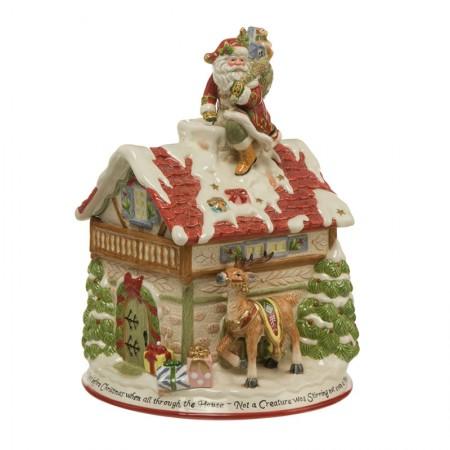 Figurka Świąteczny Dom 35cm Goebel