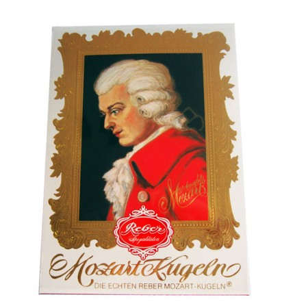 Czekoladki Mozart Kugelnbox 400g Reber
