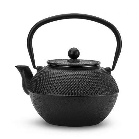 Dzbanek żeliwny czarny 1200ml do herbaty