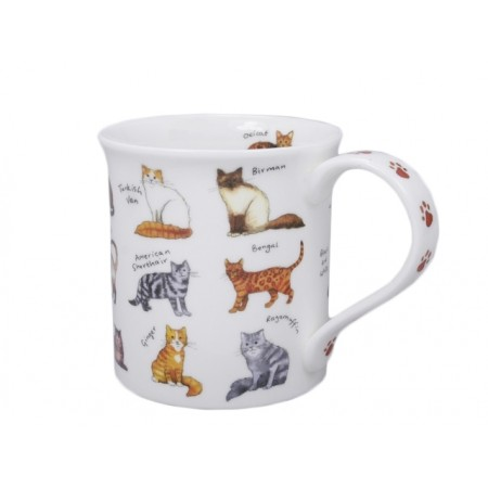 Kubek Bute Animal Breeds Cat Breeds 250ml Dunoon