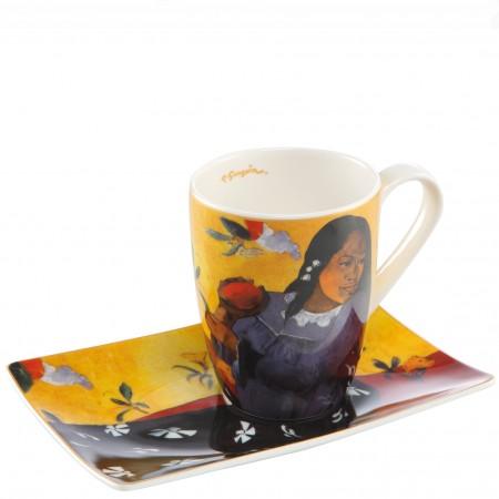 Kubek Woman with Mango 350ml Paul Gauguin Goebel