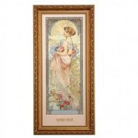 Obraz Summer 1900 27x57 cm Alphonse Mucha Goebel