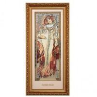 Obraz Autumn 1900 27x57 cm Alphonse Mucha Goebel