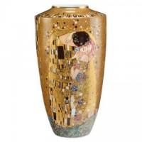 Wazon Pocałunek 55cm Gustaw Klimt Goebel