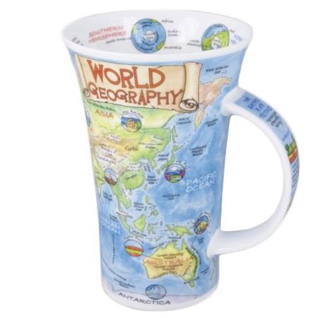 Kubek Glencoe World Geography 500ml Dunoon