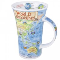 Kubek Glencoe World Geography 500ml Dunoon