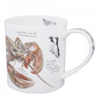 Kubek Orkney Seaside Notebook Lobster 350ml Dunoon