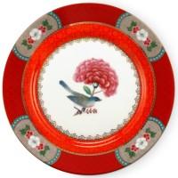 Talerz S 17 cm Blushing Birds Red Pip Studio