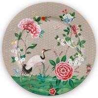 Talerz XL 32 cm Blushing Birds Khaki Pip Studio