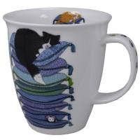 Kubek Nevis Sleepy Cats Blue 480ml Dunoon
