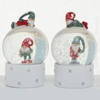 Kula Śnieżna Holger Świąteczny z Pozytywką 9cm
