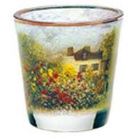 Świecznik szklany Dom Artysty 8cm Claude Monet Goebel