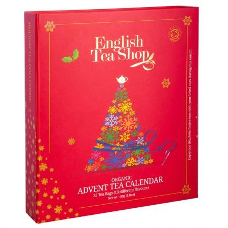 Herbaty Świąteczne KALENDARZ ADWENTOWY BIO English Tea Shop