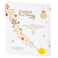 Herbaty Świąteczne KALENDARZ ADWENTOWY WHITE BIO English Tea Shop