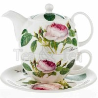 Tea for one Redoute Rose Roy Kirkham