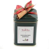 Herbata WIECZÓR PRZY KOMINKU w puszce 50g