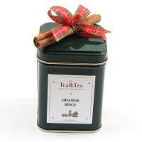 Herbata ORANGE SPICE w zielonej puszce 50g