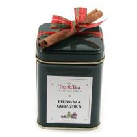 Herbata PIERWSZA GWIAZDKA w zielonej puszce 50g