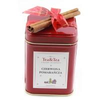Herbata CZERWONA POMARAŃCZA w czerwonej puszce 50g