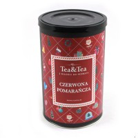 Herbata CZERWONA POMARAŃCZA w pudełku 50g