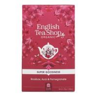 Herbata Rooibos, Acai & Pomegranate 20 saszetek English Tea Shop
