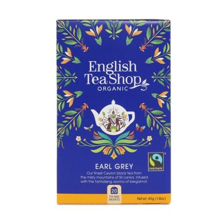 Herbata prezentowa Earl Grey 20 saszetek English Tea Shop