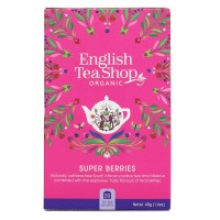 Herbata prezentowa Super Berries 20 saszetek English Tea Shop