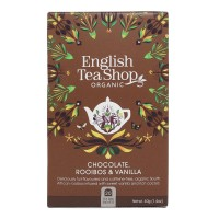 Herbata prezentowa Chocolate Rooibos Vanilla 20 saszetek English Tea Shop