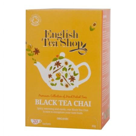 Herbata prezentowa Black Tea Chai 20 saszetek English Tea Shop