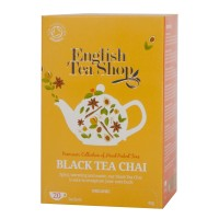 Herbata prezentowa Black Tea Chai 20 saszetek English Tea Shop