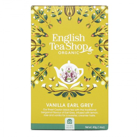 Herbata Vanilla Earl Grey 20 saszetek English Tea Shop