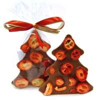 Choinka z Mlecznej czekolady z żurawiną 30g Cortez