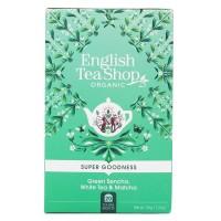 Herbata Green Sencha, White Tea & Matcha 20 saszetek English Tea Shop