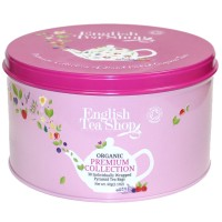 Zestaw herbat Bio Premium  30 piramidek English Tea Shop
