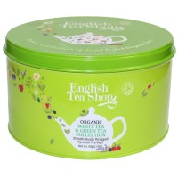 Zestaw herbat Bio Green&White 30 piramidek English Tea Shop