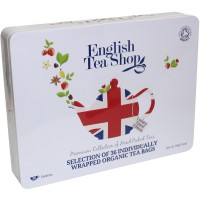 Zestaw Organic Union Jack Teas 36 saszetek English Tea Shop