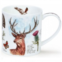 Kubek Orkney Scottish Notebook Stag 350ml Dunoon